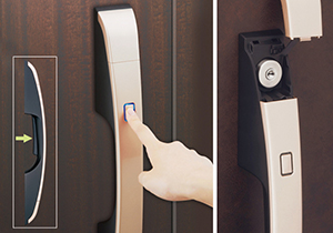 各種メーカーの電気錠システムの施工